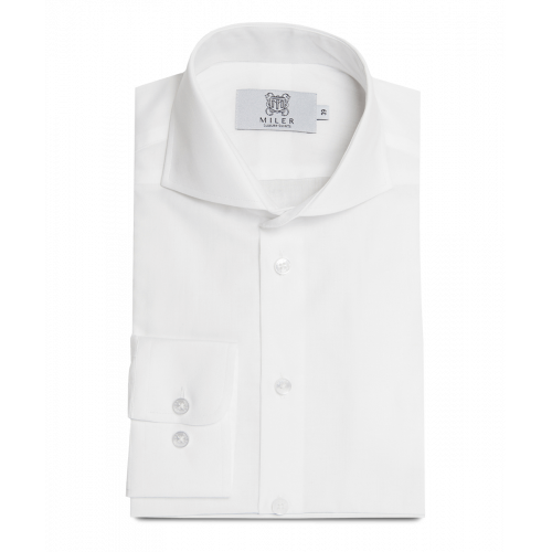 Koszula biała z flaneli
