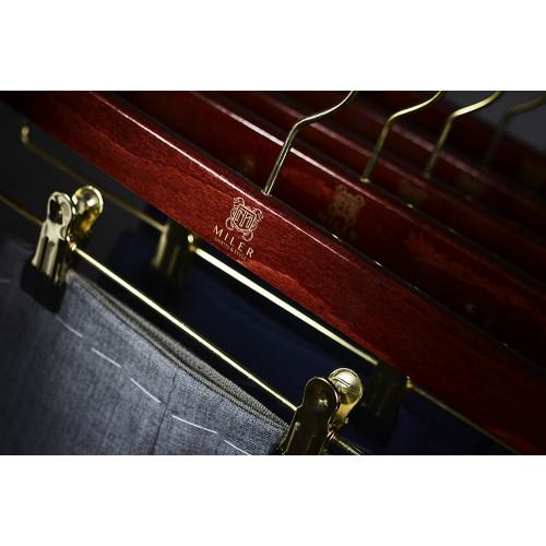 Wieszak drewniany na spodnie - Miler