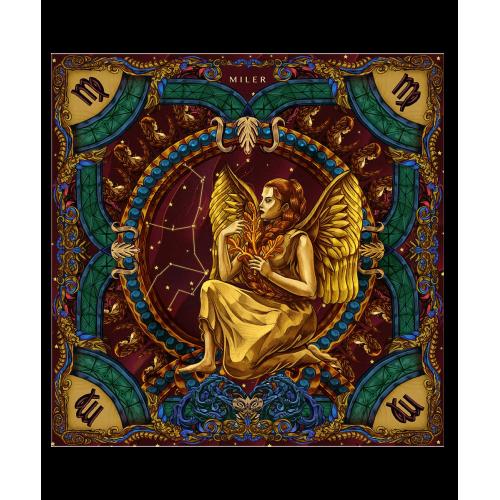 """Poszetka """"Znaki Zodiaku"""" - Panna"""