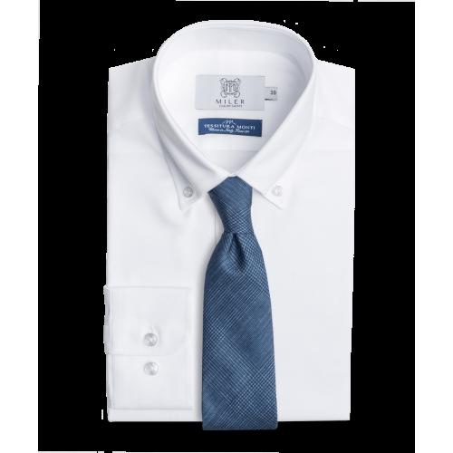 Koszula Oxford Button Down - biała