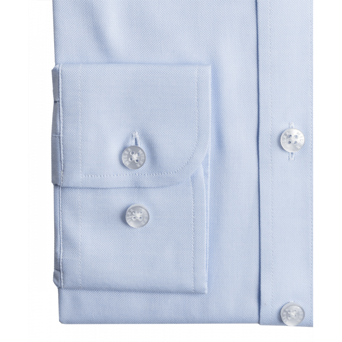 Koszula Oxford Button Down - niebieska