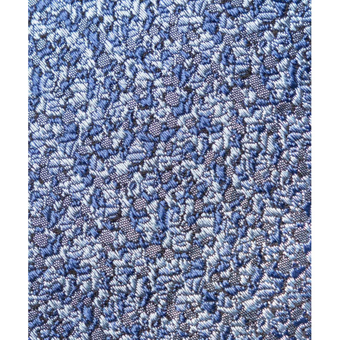Niebieski krawat we wzór