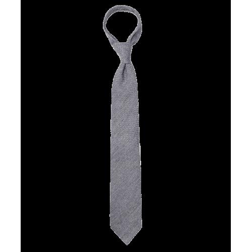 Szary krawat z fakturą