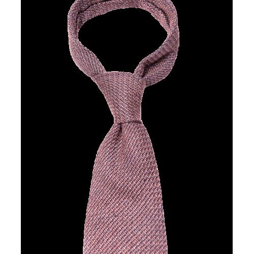 Bordowy krawat z fakturą