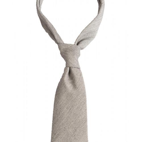 Szary krawat