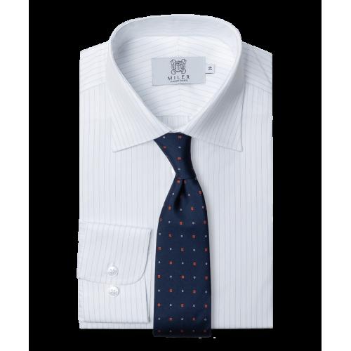 Koszula półformalna w pin stripe