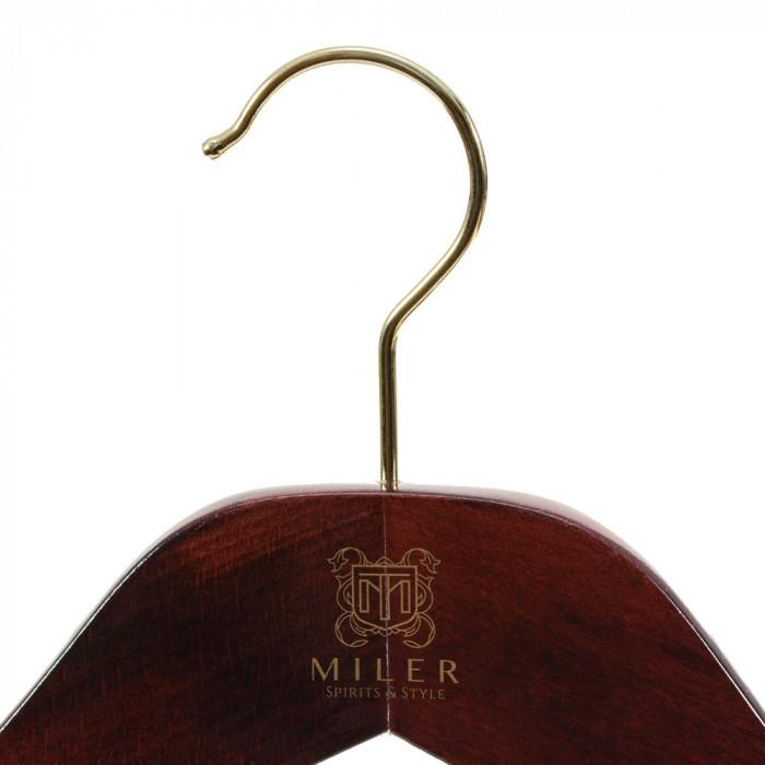 Wieszak drewniany na marynarkę lub płaszcz - Miler