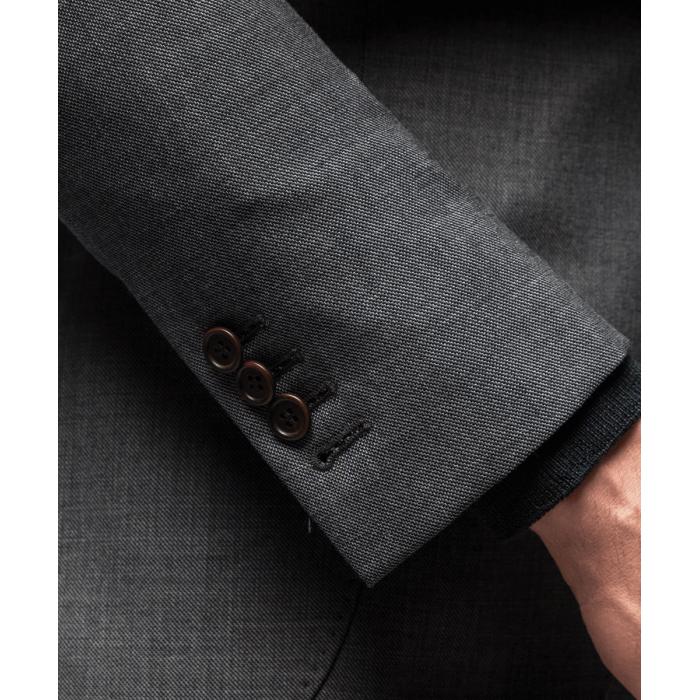 Szary garnitur Turin
