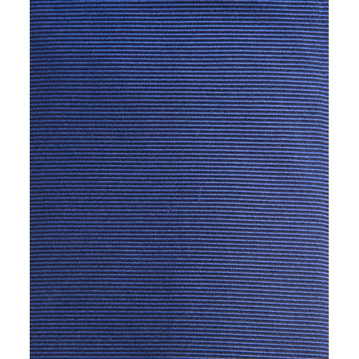 Niebieski gładki krawat