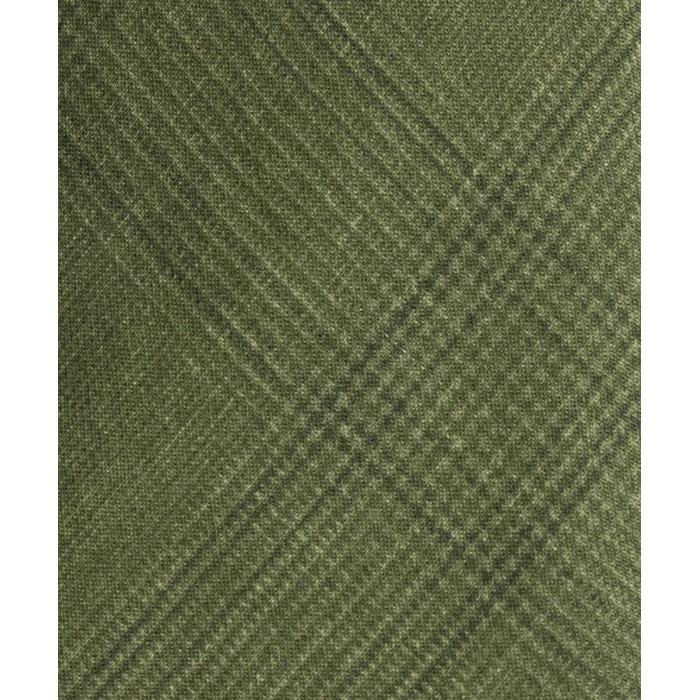 Zielony krawat wełniany w kratkę księcia Walii