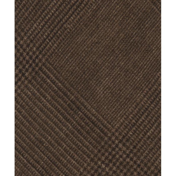 Brązowy wełniany krawat w kratkę księcia Walii