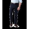 Granatowe spodnie chino ...