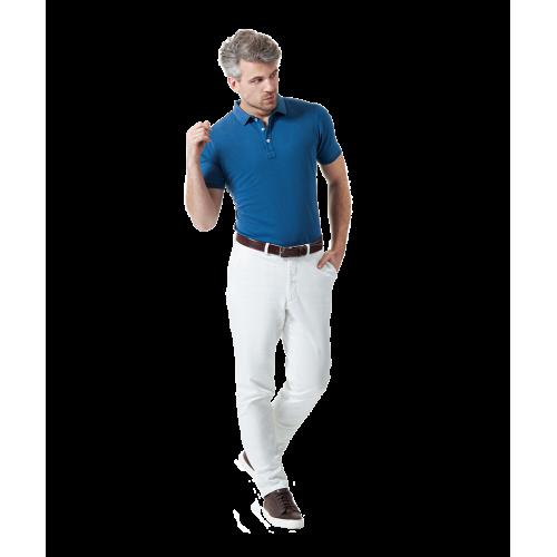 Jasnoniebieska koszulka polo