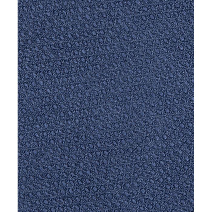 Niebieski krawat z wyraźną fakturą
