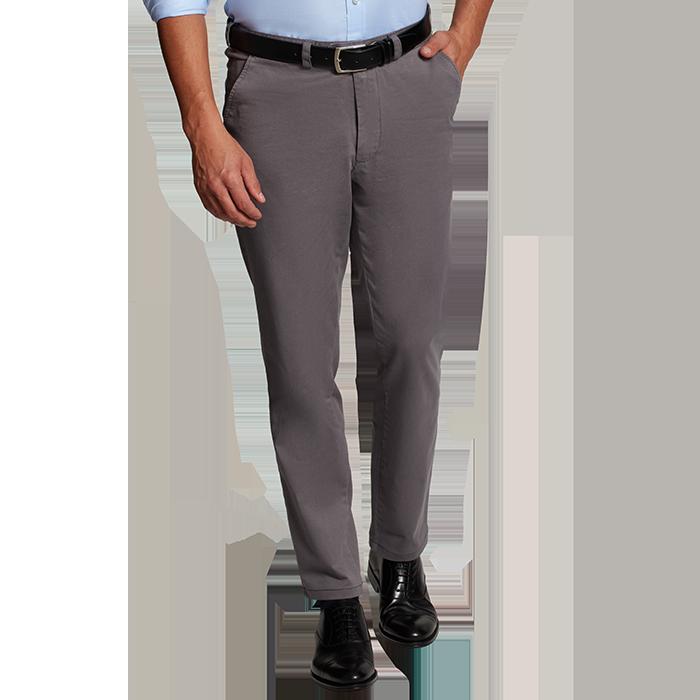 Szare spodnie chino
