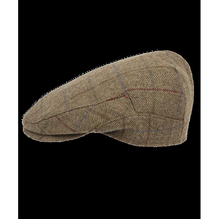 Kaszkiet z nausznikami Harris Tweed - Eday