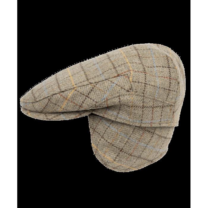 Beżowy kaszkiet z nausznikami Colonsay z wełny