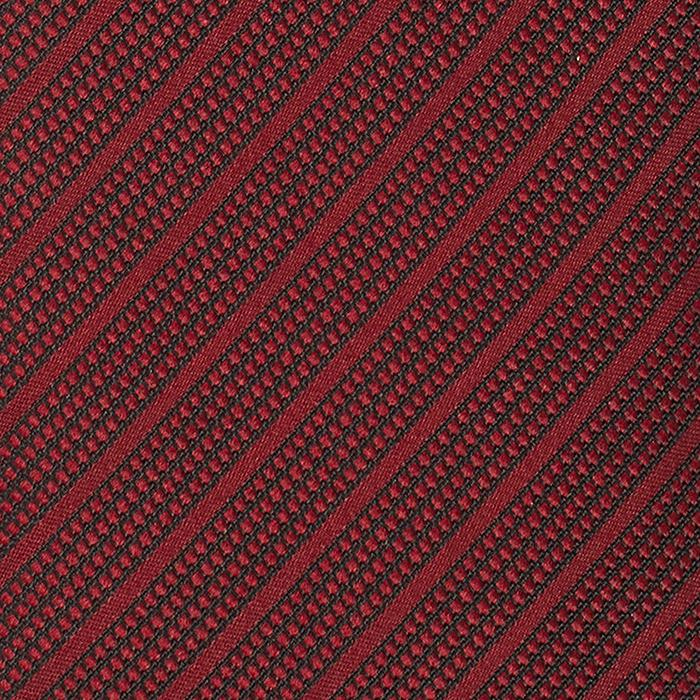 Czerwony krawat w paski