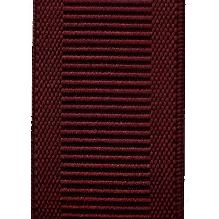 Bordowe szelki do spodni ze splotem