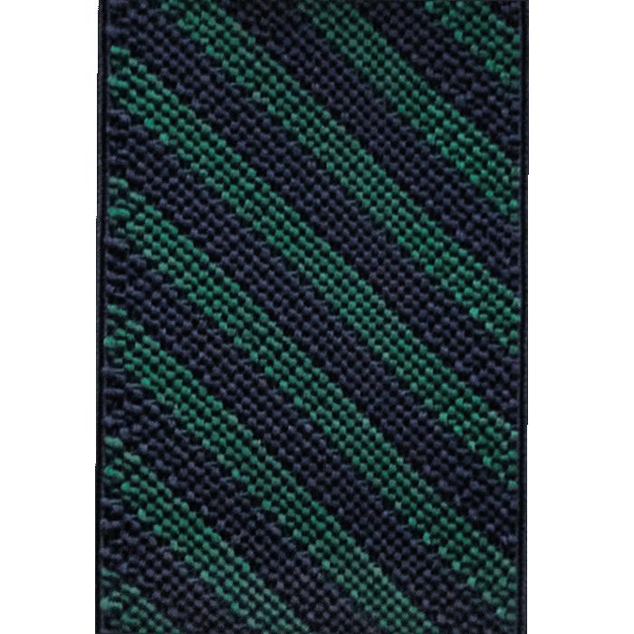 Szelki do spodni w granatowo-zielone paski