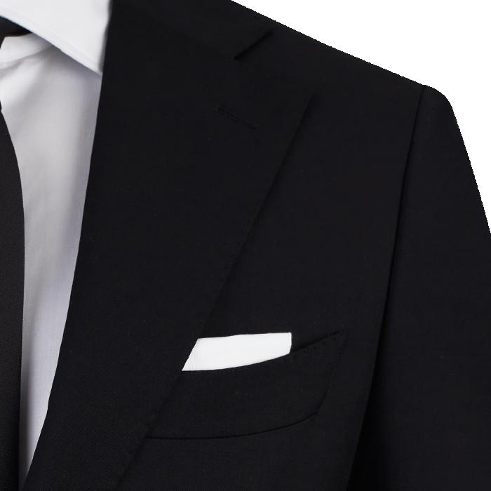 Czarny garnitur Phoenix