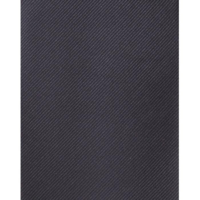 Stalowy gładki krawat jedwabny
