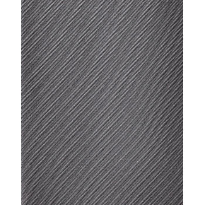 Szary gładki krawat jedwabny