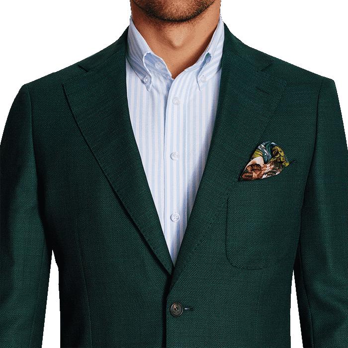 Zielona marynarka Turin