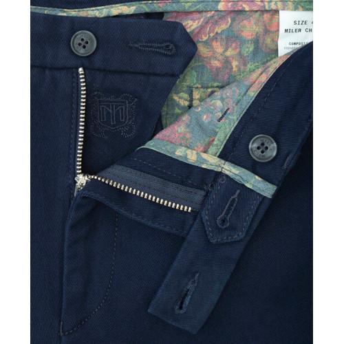 Spodnie chino Miler granatowe