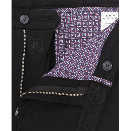 Spodnie chino Miler czarne
