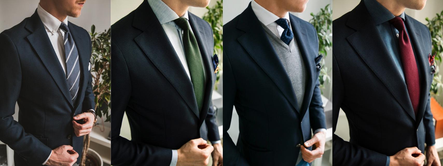 Krawaty kolaż